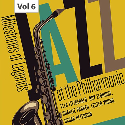 Milestones of Legend - Jazz at the Philharmonic, Vol. 6 de Oscar Peterson