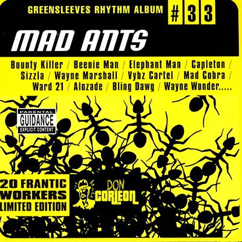 Greensleeves Rhythm Album #33: Mad Ants by Various Artists