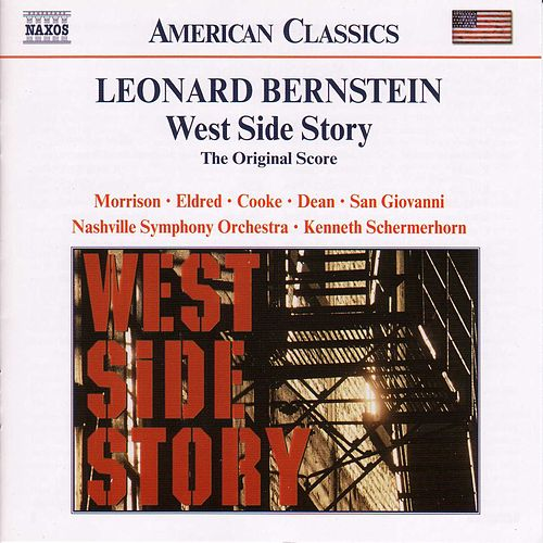 West Side Story (Naxos) by Leonard Bernstein / New York Philharmonic