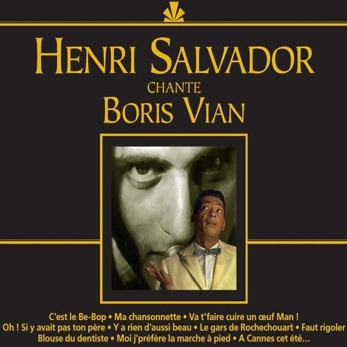 Chante Boris Vian de Henri Salvador