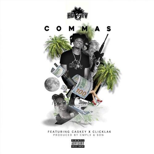 Commas (feat. Caskey & ClicKlak) de Hdtv