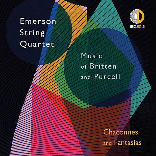 Chaconnes and Fantasias: Music of Britten and Purcell by Emerson String Quartet