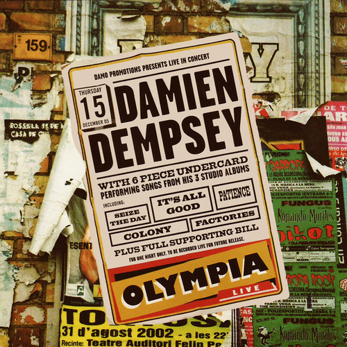 Live at the Olympia von Damien Dempsey
