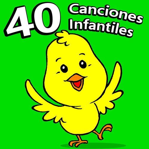 40 Canciones Infantiles by La Superstar De Las Canciones Infantiles