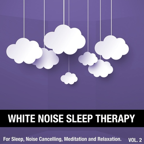 White Noise Sleep Therapy, Vol. 2 (For Sleep, Noise Cancelling, Meditation and Relaxation) von White Noise Sleep Therapy