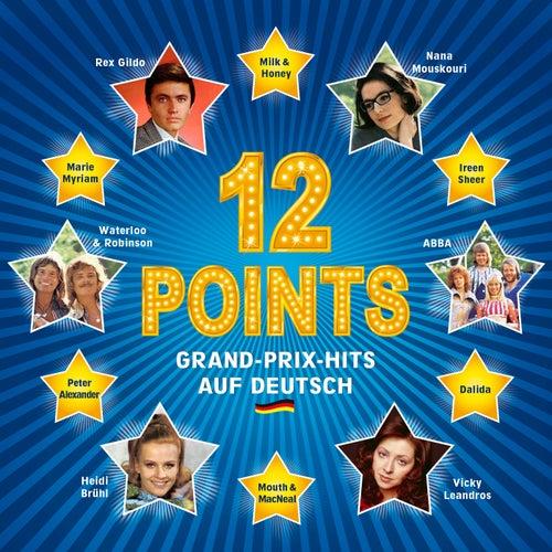12 Points - Grand-Prix-Hits auf Deutsch de Various Artists