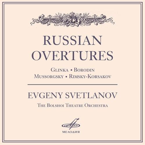 Russian Overtures de Evgeny Svetlanov