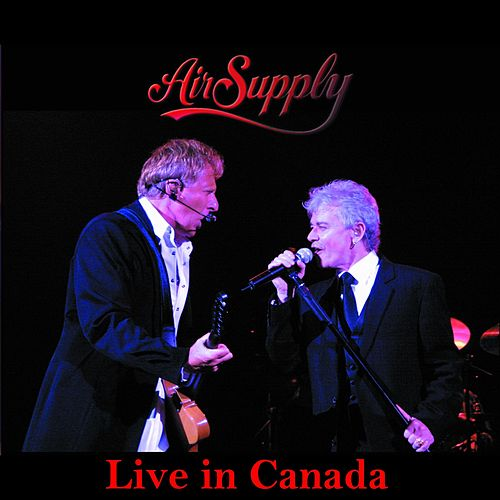 Live in Canada de Air Supply