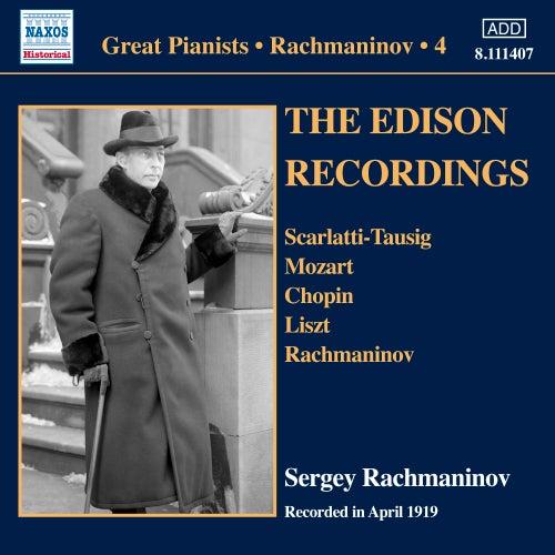 Rachmaninoff: Piano Solo Recordings, Vol. 4 di Sergei Rachmaninoff