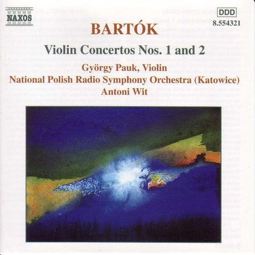 Violin Concertos Nos. 1 and 2 by Bela Bartok