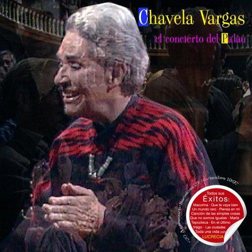 Chavela Vargas el Concierto del Palau de Chavela Vargas