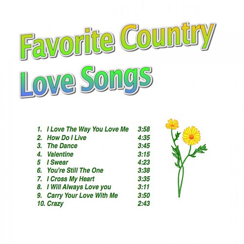 Favorite Country Love Songs di Various Artists