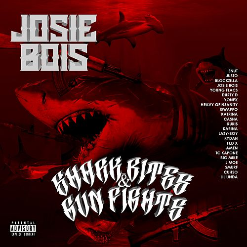 Shark Bites and Gun Fights by Josie Bois