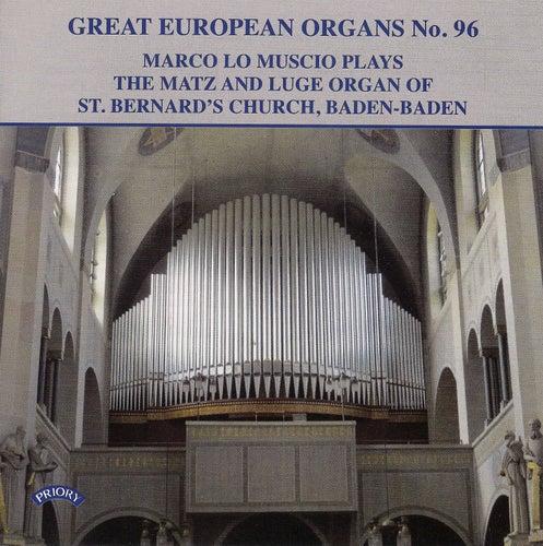 Great European Organs, Vol. 96 de Marco Lo Muscio