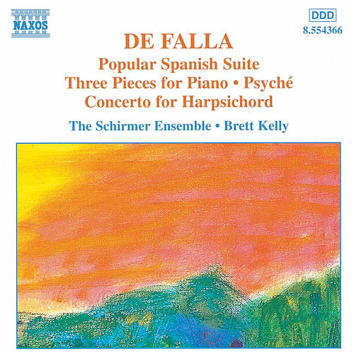 Popular Spanish Suite / Harpsichord Concerto by Manuel de Falla