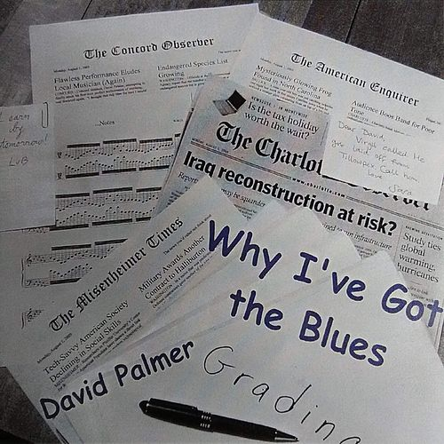 Why I've Got the Blues de David Palmer