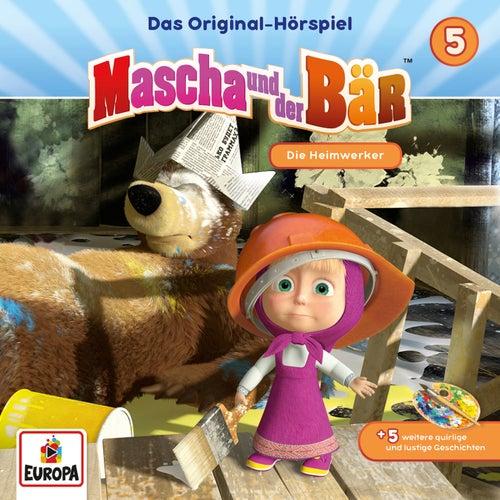005/Die Heimwerker von Mascha und der Bär