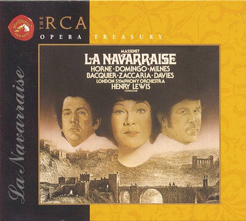 Massenet: La Navarraise by Jules Massenet