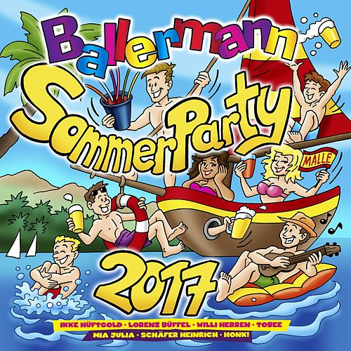 Ballermann Sommer Party 2017 von Various Artists