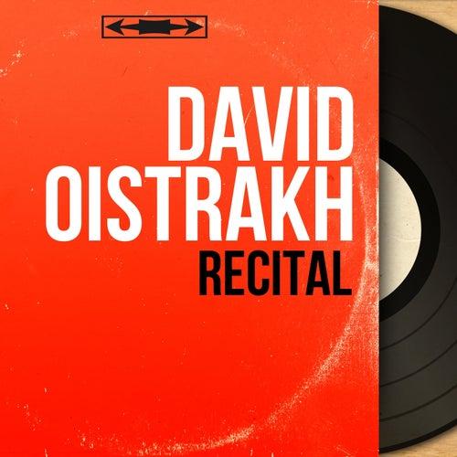 Récital (Mono Version) di David Oistrakh