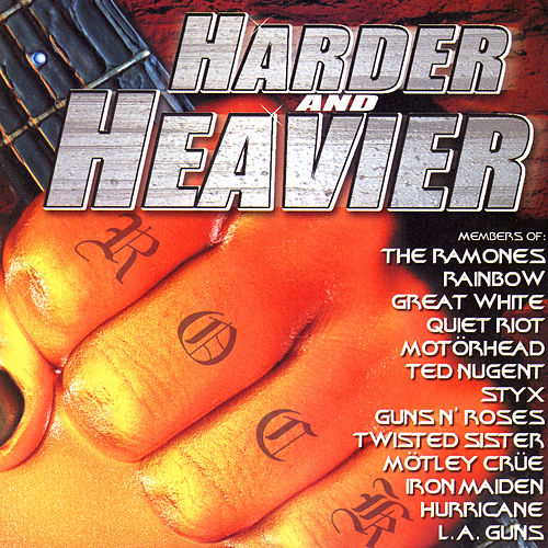 Harder And Heavier de Various Artists