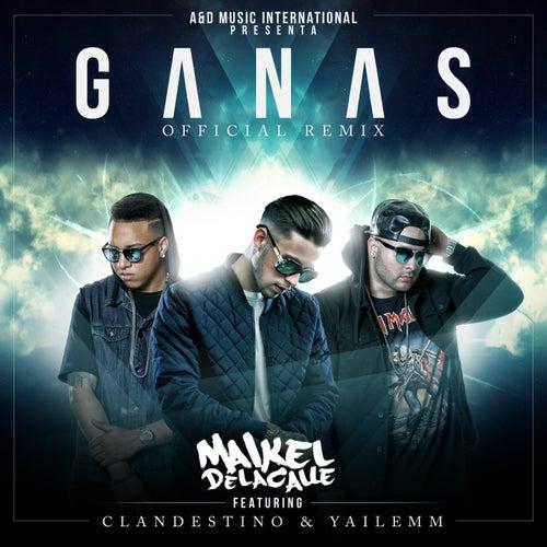 Ganas (Remix) de Maikel Delacalle