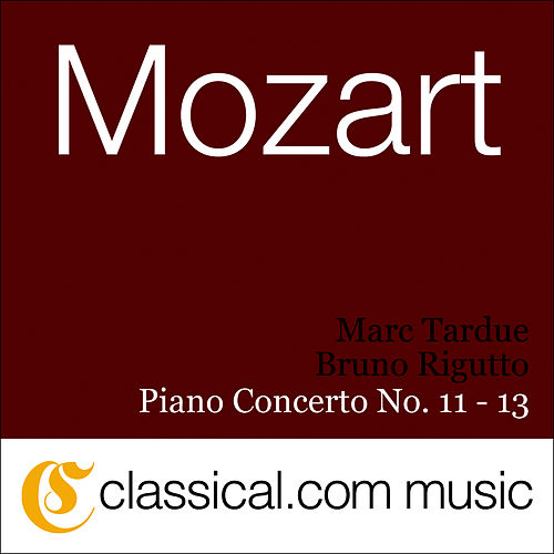 Wolfgang Amadeus Mozart, Piano Concerto No. 11 In F Major, K. 413 von Bruno Rigutto