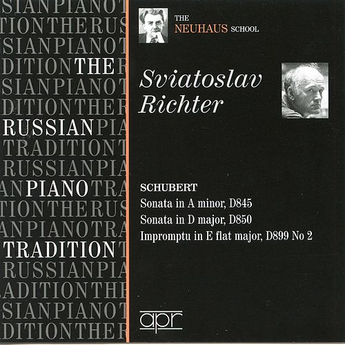 The Russian Piano Tradition: The Neuhaus School (S. Richter) (1950, 1956, 1957) by Johannes Brahms