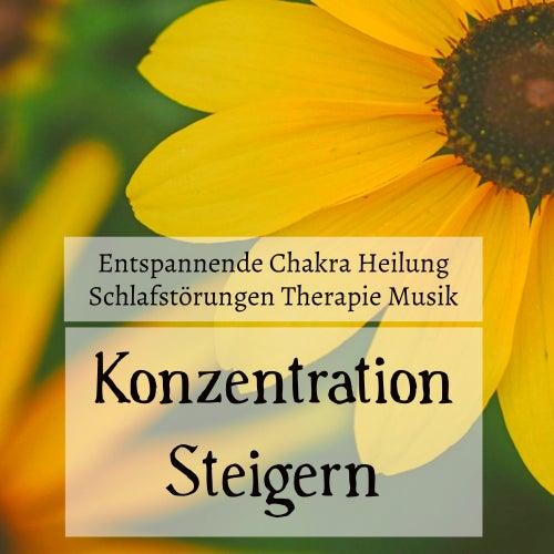 Konzentration Steigern - Entspannende Chakra Heilung Schlafstörungen Therapie Musik mit Natur New Age Instrumental Geräusche von Schlaflieder Relax