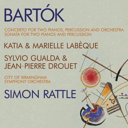 Bartók - Double Piano Concerto; Double Piano Sonata by Katia Labèque