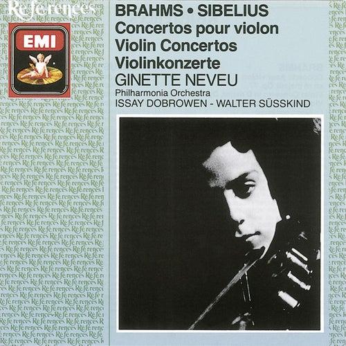 Brahms/Sibelius - Violin Concertos de Ginette Neveu