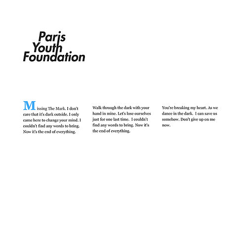 Missing the Mark by Paris Youth Foundation