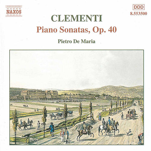 Piano Sonatas, Op. 40 by Muzio Clementi