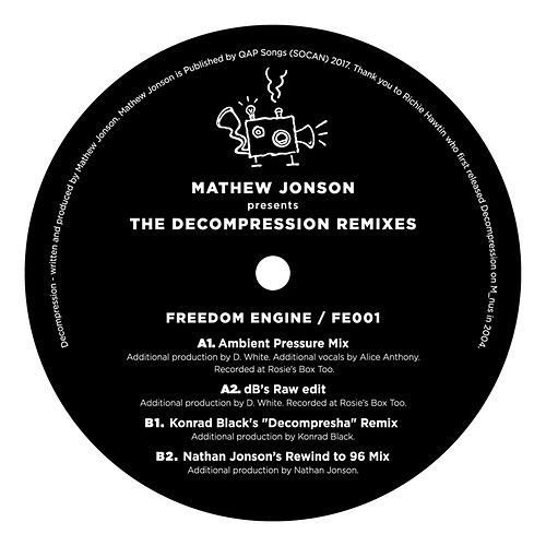 Mathew Jonson Presents The Decompression Remixes von Mathew Jonson