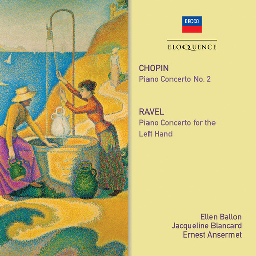 Chopin: Piano Concerto No. 2 / Ravel: Piano Concerto For The Left Hand von Ernest Ansermet