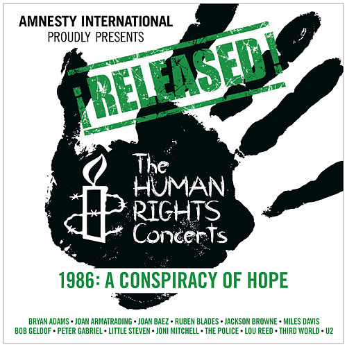 ¡Released! The Human Rights Concerts 1986: A Conspiracy Of Hope (Live) by Various Artists