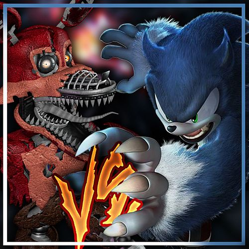 Sonic Werehog vs Nightmare Foxy - Rap Battle de Cyclo