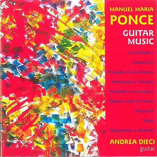 Guitar Music by Andrea Dieci