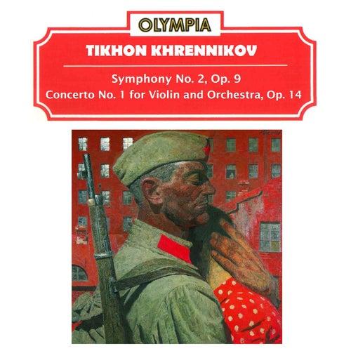 Tikhon Khrennikov: Symphony No. 2, Op. 9 & Concerto No. 1, Op. 14 de Evgeny Svetlanov