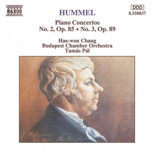 Piano Concertos Nos. 2 and 3 von Johann Nepomuk Hummel
