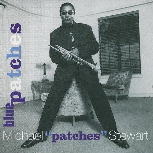 Blue Patches von Michael Patches Stewart