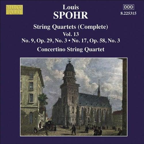 SPOHR String Quartets Nos. 9, 17 von Moscow Philharmonic Concertino Quartet