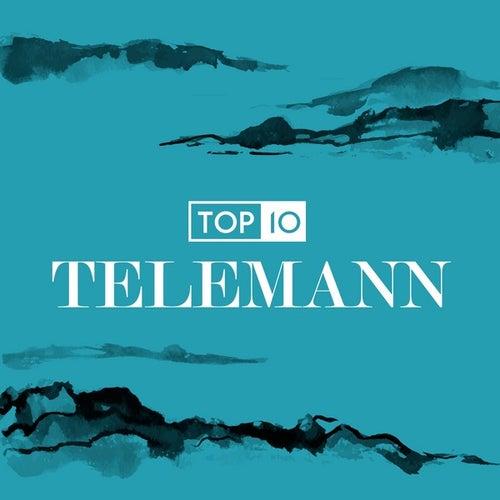 Top 10: Telemann de Various Artists