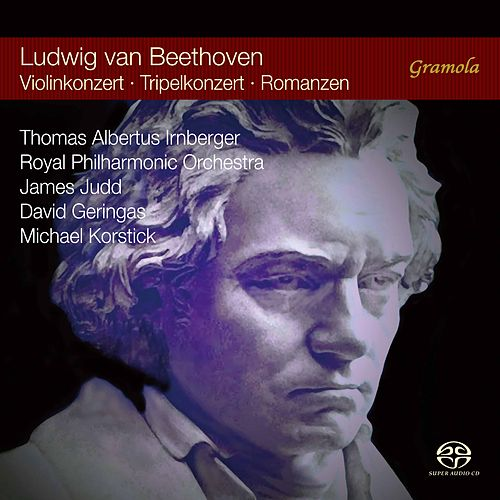 Beethoven: Violin Concerto in D Major, Romances for Violin & Orchestra, and Triple Concerto in C Major de Thomas Albertus Irnberger