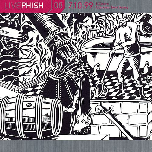 LivePhish, Vol. 8 7/10/99 (E Centre, Camden, NJ) de Phish