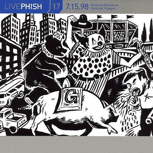 LivePhish, Vol. 17 7/15/98 von Phish