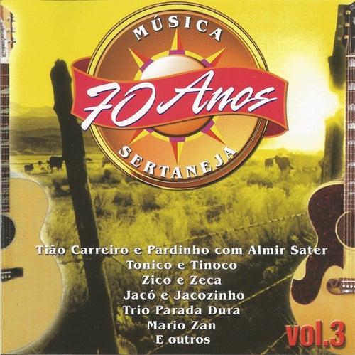70 Anos da Melhor Música Sertaneja - Vol. 03 de German Garcia