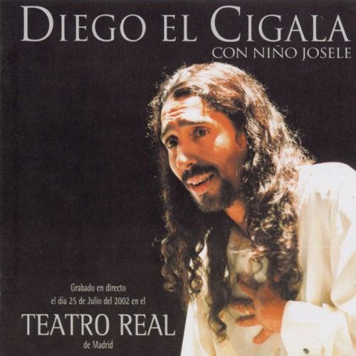 Diego El Cigala Y Niño Josele - Teatro Real by Diego El Cigala
