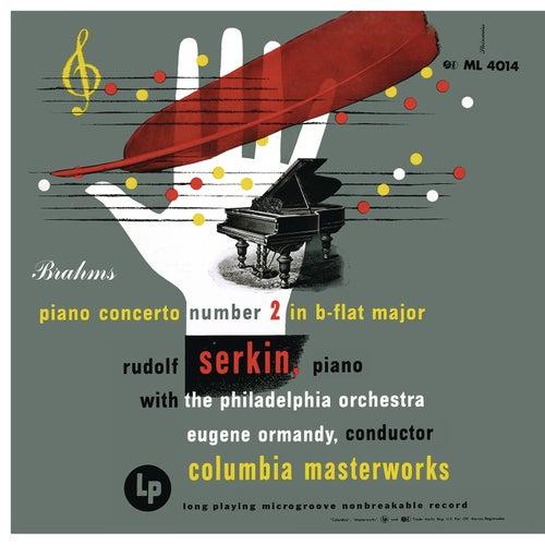 Brahms: Concerto No. 2 in B-Flat Major for Piano and Orchestra, Op. 83 von Rudolf Serkin