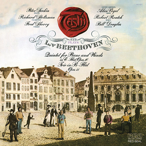 Beethoven: Quintet for Piano and Winds in E-Flat Major, Op. 16 & Trio in B-Flat Major, Op. 11 de Tashi